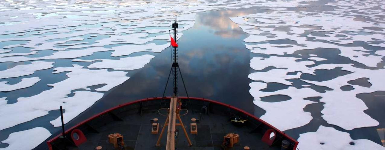 Ice melting on Beaufort Sea - Photo by NASA Goddard Space Flight Center:Flickr