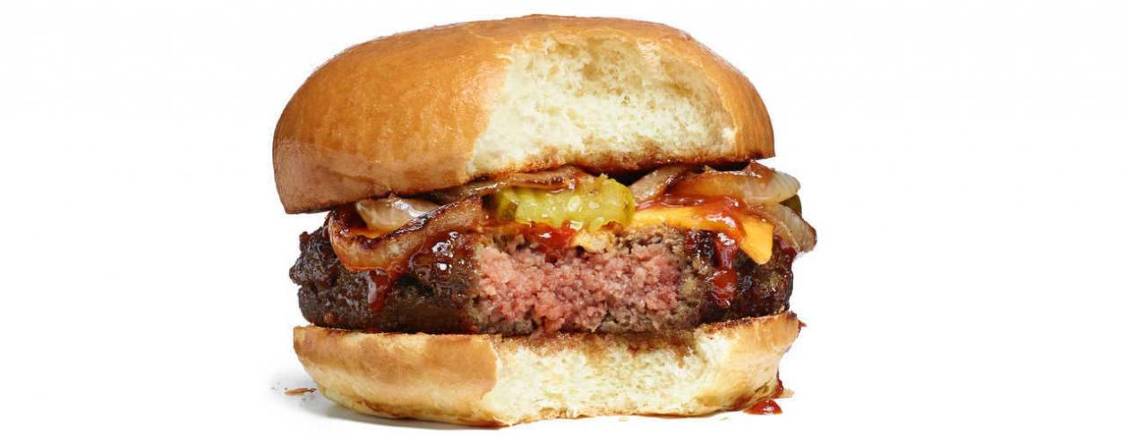 Impossible Foods Cheeseburger - Image from Impossible Foods