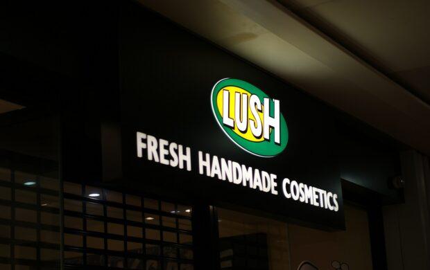 lush sign
