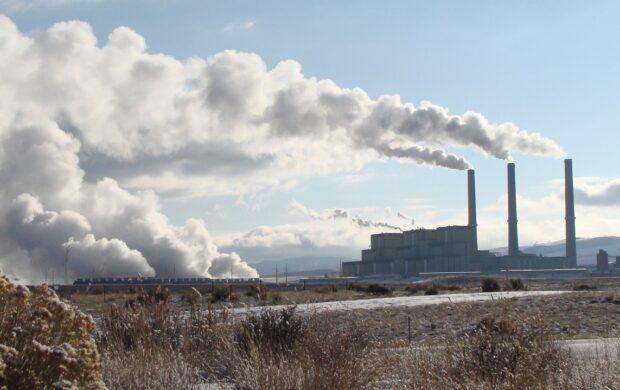 smoke power station
