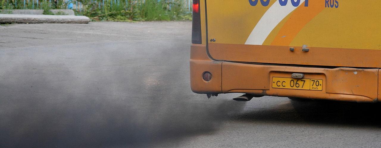 Bus Pollution - Wikimedia