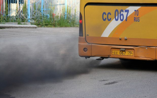 Bus Pollution - Wikimedia