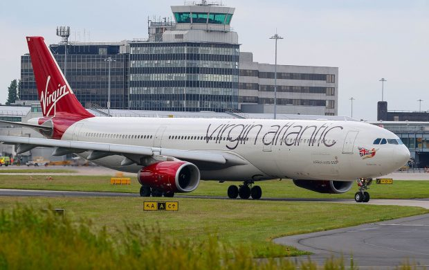 Virgin Atlantic plane - Wikimedia