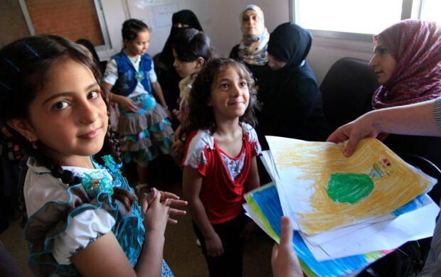 Syrian_Children - Wikimedia