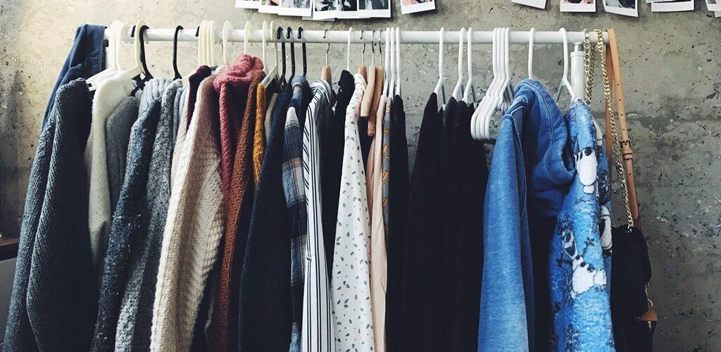 Clothes Rail by Shanna Camilleri