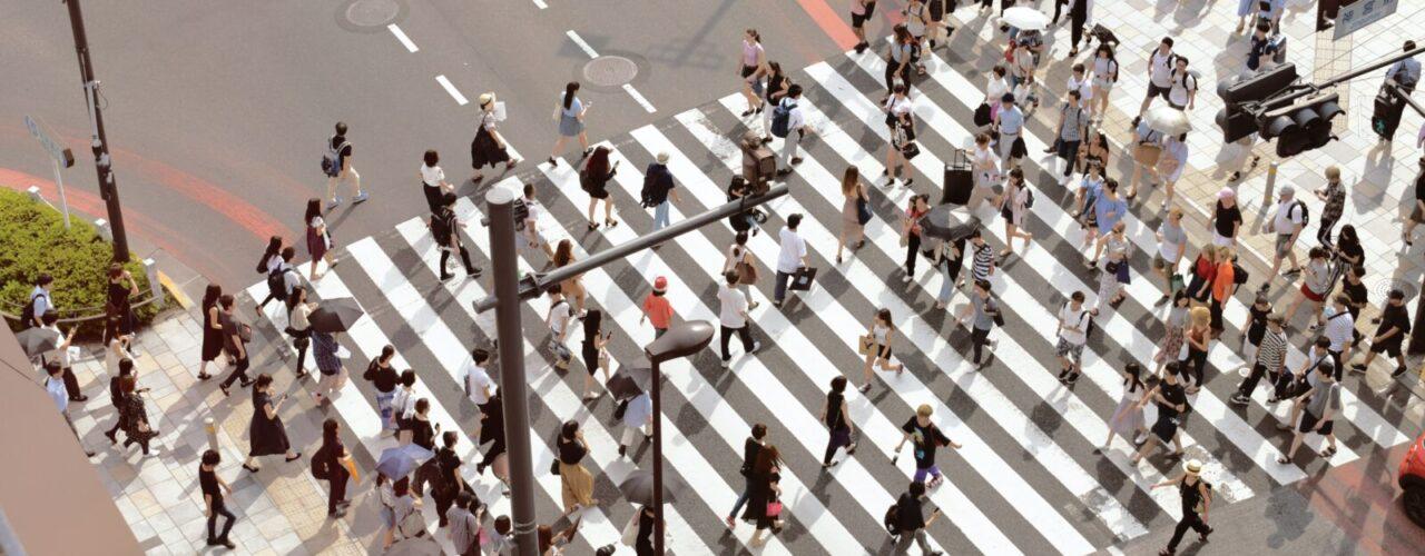 people walking on pedestrian lane during day time