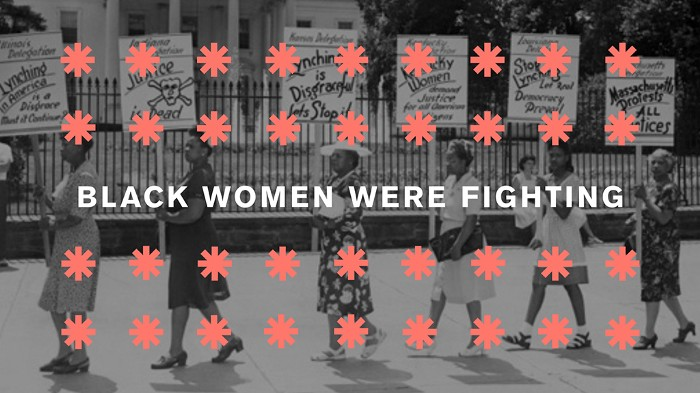 A picture of black women protesting. Systems do change: four lessons from the civil rights movement in the US.