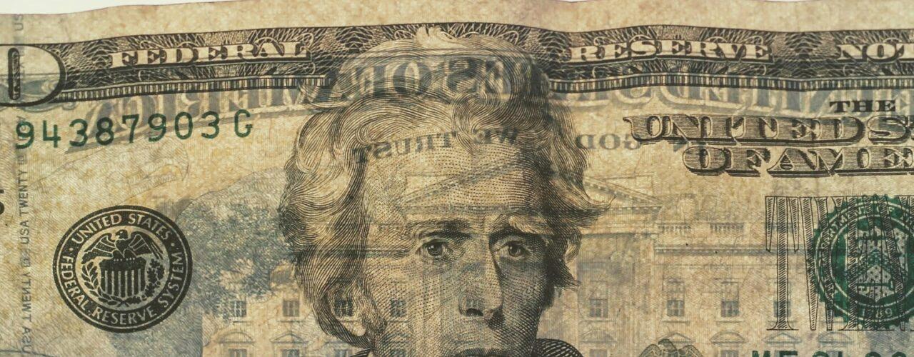 20 US dollar banknote