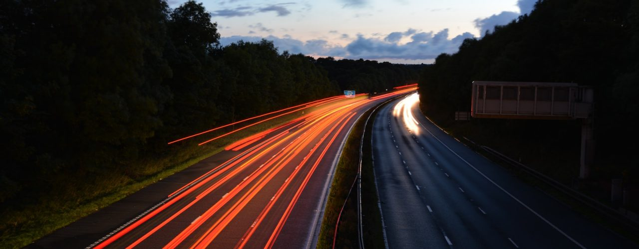 time lapse road