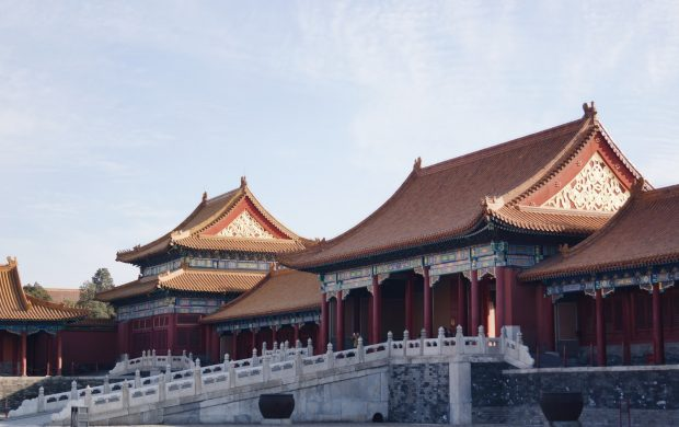 brown and red pagoda